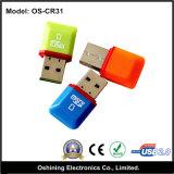 Micro lettore di schede di deviazione standard di piccolo disegno (OS-CR31)