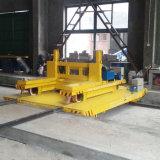 Инженерство индустрии моторизовало вагонетку переноса рельса на производственной линии цемента