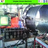 金属はHDPEによって埋められた水下水の螺線形の管の生産ラインを補強した