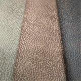 Lichia Faux sintéticos artificiais de imitação de couro PU para sofá -Monty
