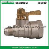 Customerized latón forjado de la calidad de la válvula de gas (AV1029)