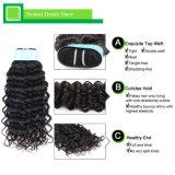 Unverarbeitete lose lockige Verwicklung geben 100% reines die Jungfrau-Haar frei