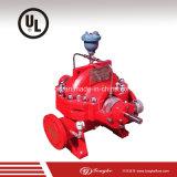 A bomba de incêndio segue com o padrão de UL/Nfpa 20