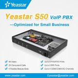 小企業のための4任意選択GSMのモジュールが付いているYeastar S50 VoIP PBXシステム