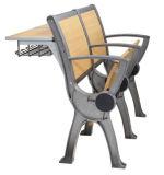 Estudiante de aluminio de escritorio y silla mobiliario escolar en el aula