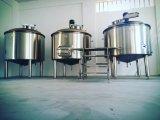 машина винзавода 1000L, оборудование заваривать пива /Draft Brewhouse завода винзавода пива нержавеющей стали/2 чайников для штанги