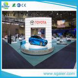 Exposition de voiture renouvelable de l'hydraulique mobile étape sur la promotion