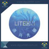 고품질 파란 색깔 홀로그램 안전 레이블
