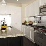Armadietto moderno della cucina del commercio all'ingrosso di legno solido della lacca del Semi-Gloss (OP14-S08)