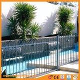 Rete fissa rivestita di alluminio/galvanizzata della piscina della polvere
