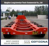 100-200ton de op zwaar werk berekende Modulaire Lage Aanhangwagen van het Bed