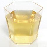 처분할 수 있는 플라스틱 컵물 컵 음료 컵 식기