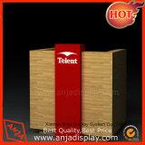 Comptoir de mélamine en bois