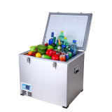 AC 접합기 (100-240V)를 가진 옥외 DC 압축기 냉장고 60liter DC12/24V