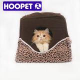 도매 표범 패턴 작은 고양이 집 개 고양이 굴 침대