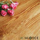 Plancher en bois de planche de vinyle de blocage de cliquetis de regard de Brown