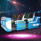 게임 기계를 경주하는 가상 현실 9d Vr 영화관 6 시트 움직임 의자 6 Dof 전기 시뮬레이터 오락