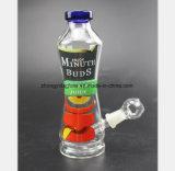Koks-Wasser-Flaschenglas-Wasser-Rauch-Gewehr-Ton bereiten Sortierfach auf