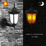 LED-Tanzen-Flamme IP65 imprägniern Garten-Sonnemmeßfühler-Licht