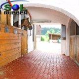 Рециркулированный оптовой продажей Paver плитки пола лошади SBR резиновый