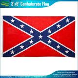 環境に優しい印刷されたポリエステル私達アメリカ人の反逆の南部連合国旗(A-NF05F09061)