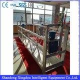 굴뚝 정비를 위한 중단된 비계 플래트홈