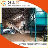 Palline delle coperture di legno di pino/bambù/arachide che fanno la linea di produzione
