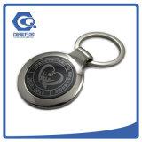 Лазер подгонянный высоким качеством гравирует логос Keychain тавра ключевой цепи заливки формы логоса