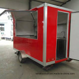 Vendas quente comida fast food camião reboque/café Kiosk