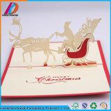 3D knallen oben Weihnachtsgruß-Karte
