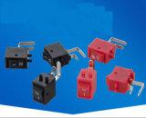 STB 힘 상자 입력/출력 2 위치 소형 누름단추식 전쟁 로커 마이크로 스위치 6A250VAC