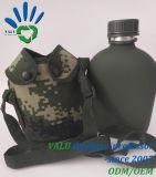 Bottiglia militare del metallo dell'acqua della lega di alluminio del metallo