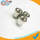 Runder Zylinder-Magnet mit Löchern