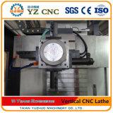 Torno vertical del CNC para las piezas plateadas de metal grandes