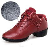 Осенью и зимой женщин танцы кожаную обувь