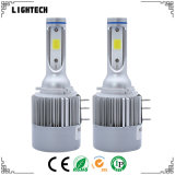 9007 faro automatico di H3 H4 H15 LED con H7 il faro dell'automobile LED