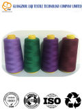 Lavoro a maglia del fornitore 100% di fabbricazione dei filati cucirini del tessuto del poliestere del ricamo
