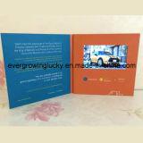 Жк-дисплей пользовательского видео по электронной почте брошюру