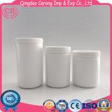 Бутылка HDPE круглая пластичная для порошка протеина Whey