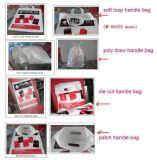 Machine de fabrication de sac à main en plastique entièrement automatique (une machine à quatre fonctions)