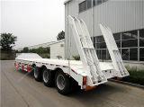 60 톤을%s 가진 새로운 반 3개의 차축 낮은 침대 트레일러