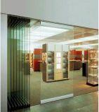 Cloison de séparation, murs en verre mobiles
