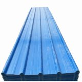 Revestido de color de hoja de techos de cartón ondulado para construcción