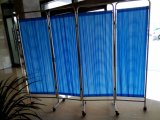 Foldable 분홍색과 파란 병상 스크린 (AG-SC001)