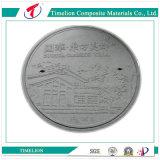 FRP Composite Manhole Cover 600 milímetros B125