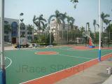 合成ゴムのスポーツのバスケットボールコートのフロアーリング