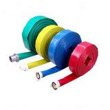 4 bars en PVC renforcé à plat et le flexible de décharge de rinçage