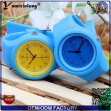 Yxl-964 Candy Color Jelly Quartz Watch Mulheres Homens Silicone Relógio de pulso Meninas Crianças Casual Relógios Relógios Mujer Clock Hour