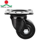 Nylonfußrolle und Rad, von geringer Schwerkraft Fußrolle, Schwenker mit Bremse, doppelte Kugel Beaing