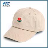 Boné de beisebol relativo à promoção com o chapéu feito sob encomenda do esporte do logotipo